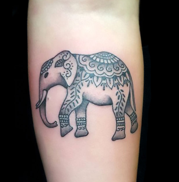 Mehndi Elephant Tattoo : Mehndi elephant tattoo pixshark images