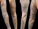 mehndi sleeve tattoo by Alex