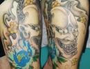 Hanya mask tattoo by Alex