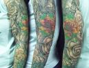 Japanese sleeve tattoo by Alex