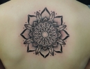 mandala tattoo by Alex