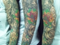 Japanese sleeve tattoo by Alex