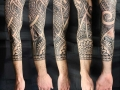 Polynesian Samoan sleeve tattoo by Alex