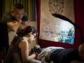 Alex tattooing at the Jurassic Coast Tattoo Convention