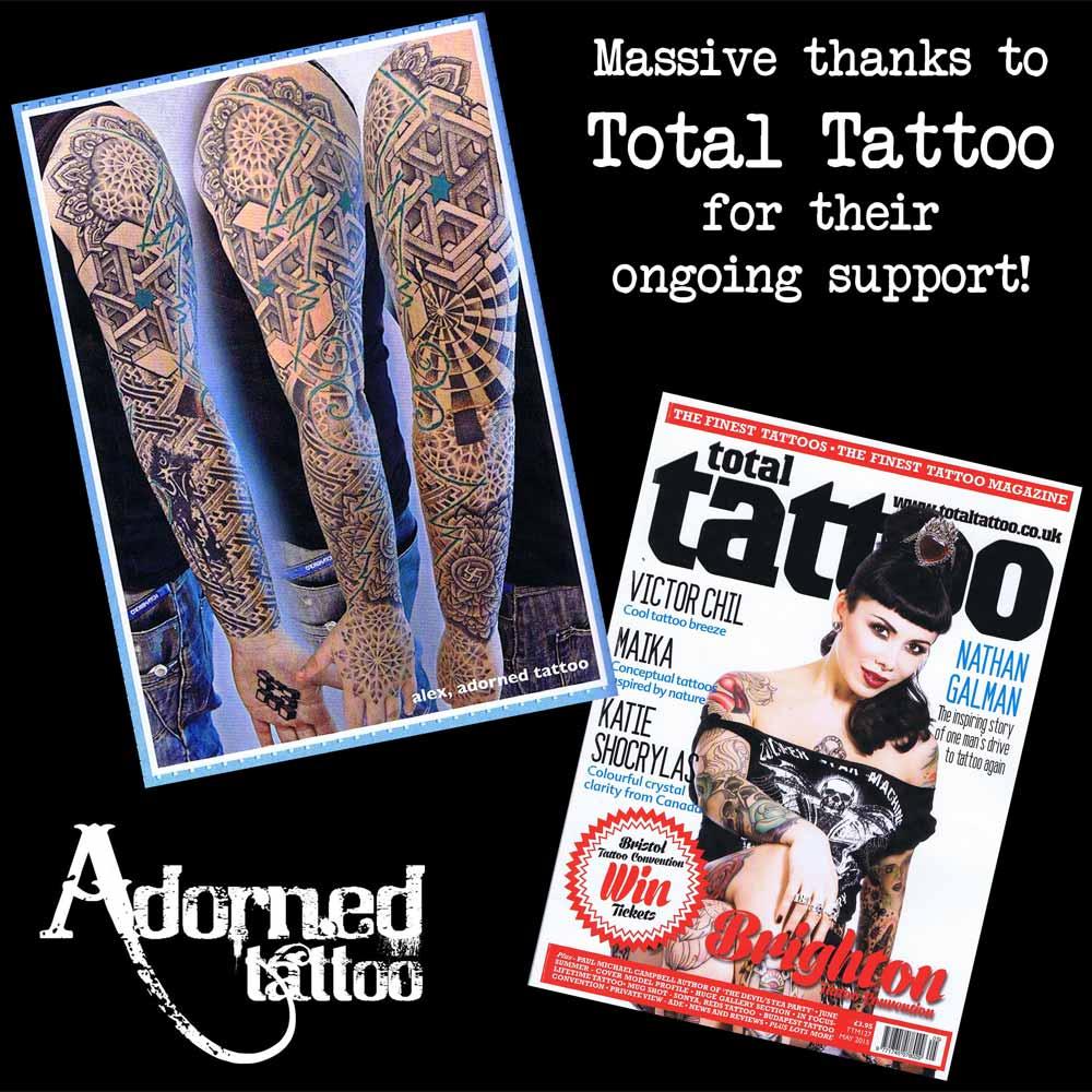 Tattoo magazines | Adorned Tattoo