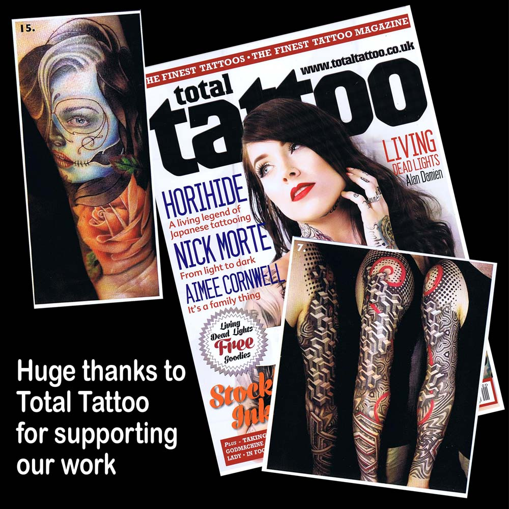 Tattoo magazines | Adorned Tattoo